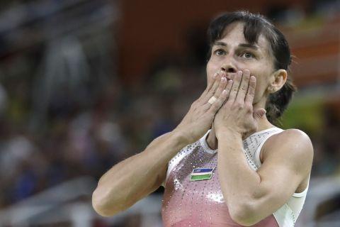 H 46χρονη Οξάνα Τσουσοβίτινα συμμετέχει σε Ολυμπιακούς Αγώνες