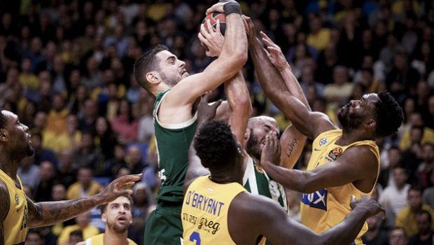 EuroLeague 2018/19: Η κατάταξη μετά την ήττα του Παναθηναϊκού από την Μακάμπι