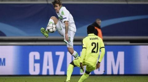 Νίκη με 3-2 στην Γάνδη για Βόλφσμπουργκ
