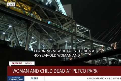 Τραγωδία σε αγώνα μπέιζμπολ με μητέρα και γιο να πέφτουν από τον έκτο όροφο στο γήπεδο του Σαν Ντιέγκο