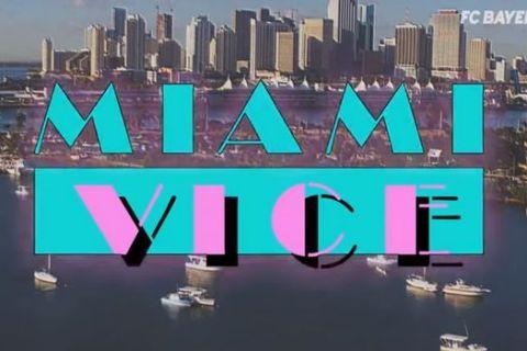 "VIDEO: Το remake του ""Miami Vice"" από την Μπάγερν Μονάχου!"