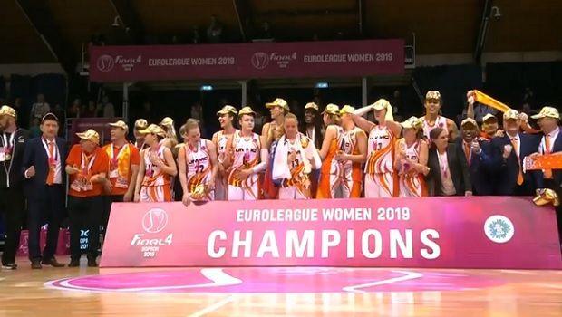 EuroLeague γυναικών: Παρέμεινε στον θρόνο της η Εκατέρινμπουργκ