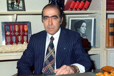Ο εμβληματικός πρόεδρος της ΑΕΚ, Λουκάς Μπάρλος