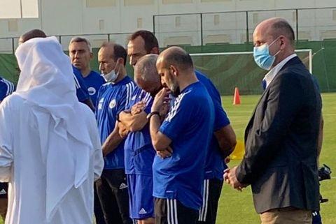 Ο Μπάμπης Ζελενίτσας από την παρουσίαση του στην ομάδα της Σάρτζα στα ΗΑΕ | 4 Ιουλίου 2021