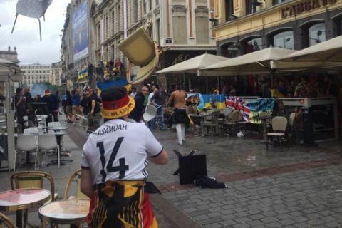 Επεισόδια μεταξύ Γερμανών και Ουκρανών στη Λιλ