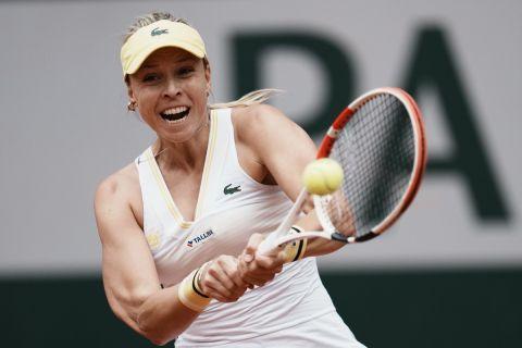 Η Ανέτ Κόνταβεϊτ στο Roland Garros