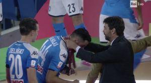 Νάπολι – Γιουβέντους: Ο Ανιέλι έδωσε το μετάλλιο στον Μανωλά