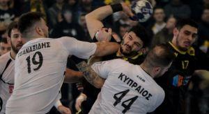 Handball Premier: Στην ΑΕΚ το ντέρμπι, 31-30 τον ΠΑΟΚ