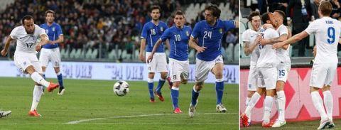 Ιταλία - Αγγλία 1-1