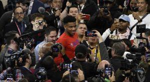 Αντετοκούνμπο: O MVP της Media Day