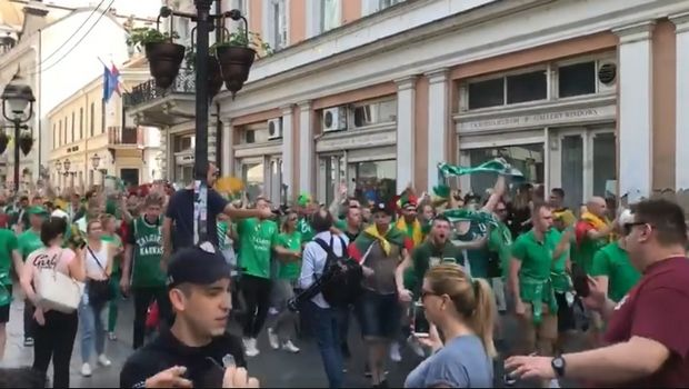 Οι φίλοι της Ζάλγκιρις έχουν ξεσηκώσει το Βελιγράδι