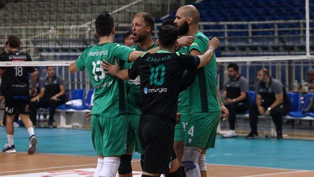 Παναθηναϊκός - ΠΑΟΚ 3-0: Έστειλαν τη σειρά σε τρίτο ματς οι πράσινοι