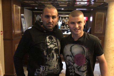 Ο Ραφίκ Τζεμπούρ με τον Βαλεντίν Νικόλοφ