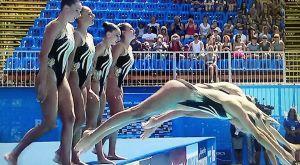 Έκτη στο Ελεύθερο η Εθνική συγχρονισμένης κολύμβησης