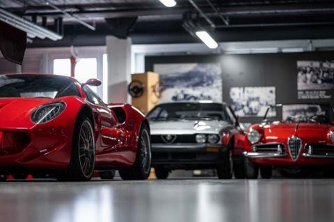 Μπείτε στο μουσείο της Alfa Romeo