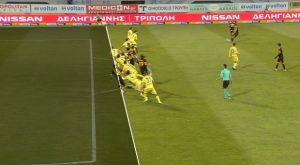 Αστέρας – ΑΕΚ: Το ακυρωθέν γκολ του Ολιβέιρα