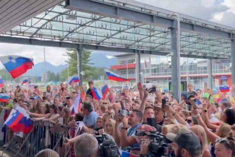 Ολυμπιακοί Αγώνες: Αποθεωτική υποδοχή στον Λούκα Ντόντσιτς και την παρέα του