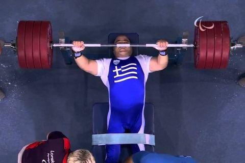 """""""Λιοντάρι"""" ο Μάμαλος, χρυσό μετάλλιο στα -107 κιλά!"""