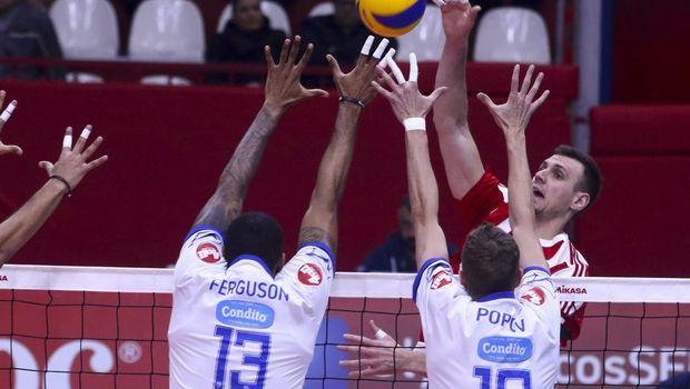 Volleyleague ανδρών: Πρώτοι ημιτελικοί σε Πυλαία και Ρέντη