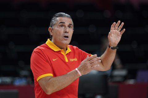 Ο Σέρτζιο Σκαριόλο σε αγώνα των Ολυμπιακών Αγώνων