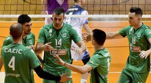 Volleyleague ανδρών: Νίκες για Παναθηναϊκό και ΠΑΟΚ, με ανατροπή ο Παμβοχαϊκός