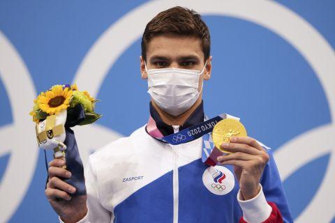 Ο Εβγκένι Ρίλοφ κατέκτησε το χρυσό μετάλλιο στα 100 μέτρα ύπτιο