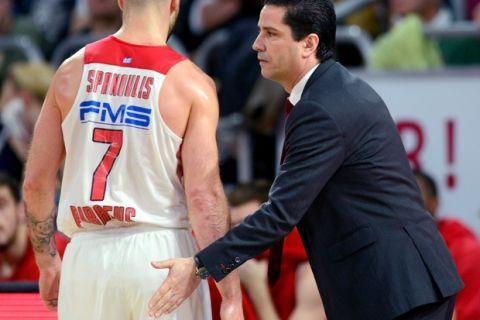 """Σφαιρόπουλος: """"Δεν είχαμε ενέργεια για τρεις τελικούς σε έξι μέρες"""""""