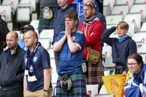 Απογοητευμένοι οι οπαδοί της Σκωτίας