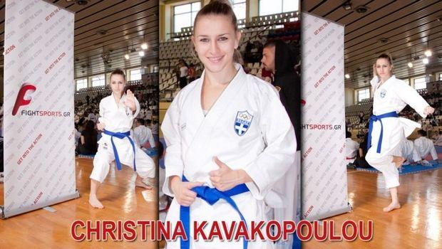 Χριστίνα Καβακοπούλου: Η πρώτη Ελληνίδα στο Karate Combat