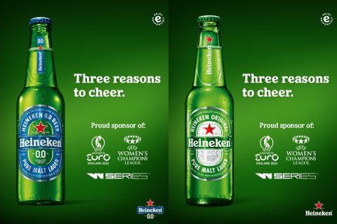 Η Heineken® δίνει στους λάτρεις των σπορ τρεις ακόμη λόγους για να γιορτάσουν