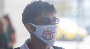 Ολυμπιακός: Αναχώρησαν για Θεσσαλονίκη με μάσκες