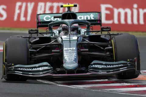 Ο Σεμπάστιαν Φέτελ στο Grand Prix της Ουγγαρίας