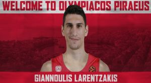 Oλυμπιακός: Δικός του και ο Γιαννούλης Λαρεντζάκης