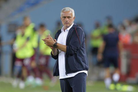 Ο Ζοζέ Μουρίνιο ως προπονητής της Ρόμα