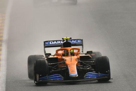 Ο Λάντο Νόρις στο GP του Βελγίου