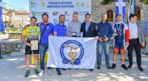 Επιτυχημένος ο 1ος Πανελλήνιος Ποδηλατικός Αγώνας Αστυνομικών
