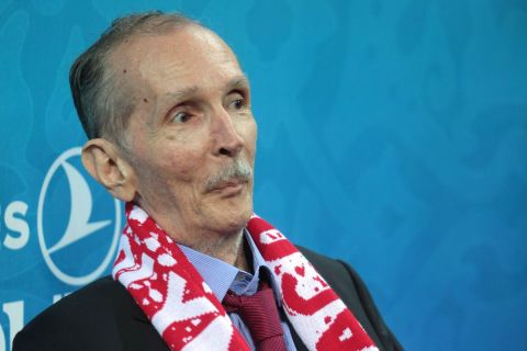 Ο Κωνσταντίνος Αγγελόπουλος, πατέρας των ιδιοκτητών της ΚΑΕ Ολυμπιακός.