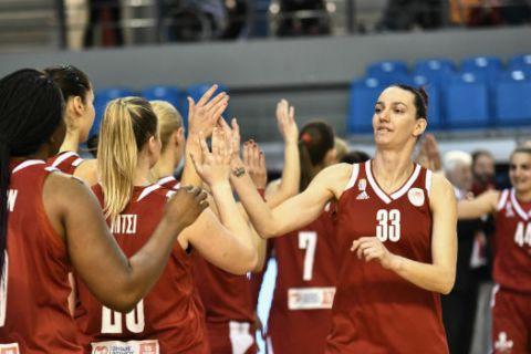 """Κύπελλο Γυναικών: Ο Ολυμπιακός """"έπιασε"""" τις Εσπερίδες"""