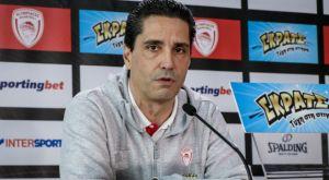 Σφαιρόπουλος: «Είμαστε μισοί, πάμε για τη νίκη»