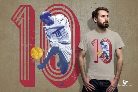 Tα Footshirts έχουν τα t-shirts που ξεχωρίζουν