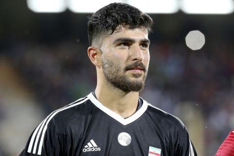 O Ιρανός τερματοφύλακας, Αμίρ Αμπετζαντέχ