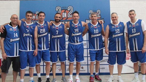 Mπασκετική πανδαισία το 2on2 Basketball by Stoiximan με Δημήτρη Διαμαντίδη