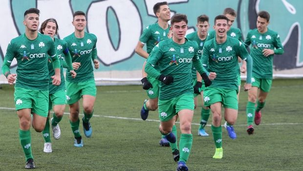 Κ17 Παναθηναϊκός - ΑΕΚ 3-1: Πράσινη τριάρα στο ρελαντί