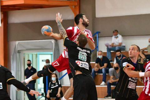 Handball Premier: Σέντρα στο πρωτάθλημα με ντέρμπι Ολυμπιακός - Διομήδης