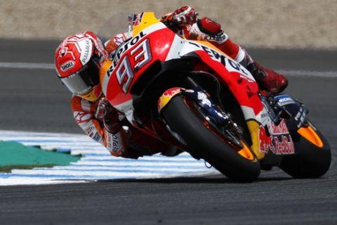 GP Ισπανίας: Νικητής ο Márquez, σύγκρουση για τις Ducati με τον Pedrosa