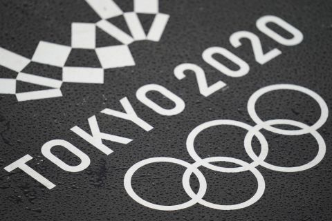 Το logo των Ολυμπιακών Αγώνων του Τόκιο