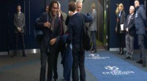 Ολυμπιακός: Η αγκαλιά του Μουρίνιο με τον Μαρτίνς