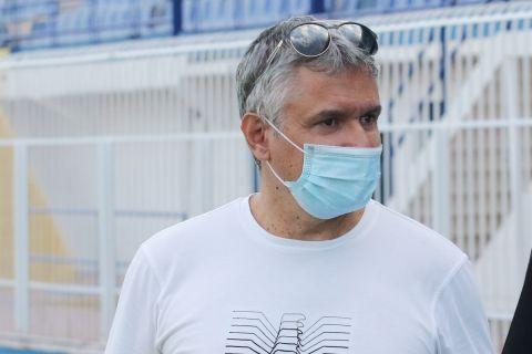Ο Γιώργος Σπανός κατά την πρώτη του Ατρόμητου για τη σεζόν 2020-21   6 Ιουλίου 2021