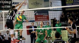 Volley League ανδρών: Πέρασε από την Κρήτη ο Παναθηναϊκός, 3-0 τον ΟΦΗ