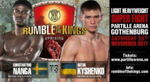 Ο Artur Kyshenko επιστρέφει στις μάχες στο «Rumble of the King»